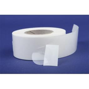 Etikett, 20 mm kör, 1000 etikett/tekercs, víztiszta [1000 db]