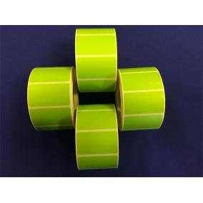 Etikett, thermo, 25x45 mm, 1000 etikett/tekercs, zöld