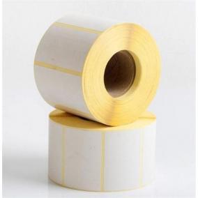 Etikett, vellum, nyomatlan, 40x100 mm, 1000 etikett/tekercs [10 tek]