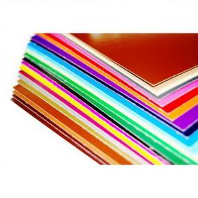 Dekor karton 2 oldalas 48x68 világos barna [25 ív]