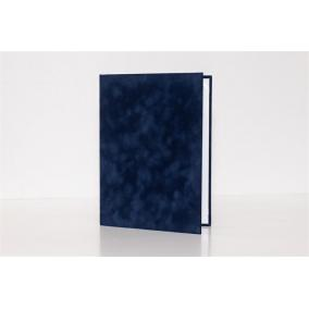 Oklevéltartó, A4, exkluzív, kék