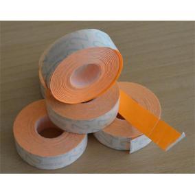 Árazógépszalag, 19x16 mm, METO, narancs [5 tek]