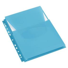 Genotherm, lefűzhető, A4, 200 mikron, füllel, 20 mm, VIQUEL, kék [3 db]