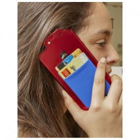 Irattartó zseb telefonhoz, RFID blokkolással, többszínű