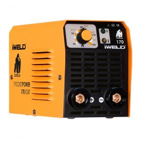 Iweld inverter Gorilla Pocketpower 170 (160A-es), koffer nélkül!