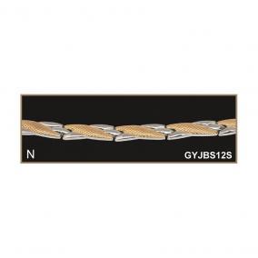 Jade Brillance Set 12 mágneses-turmalinos karkötő M (19,3 cm)