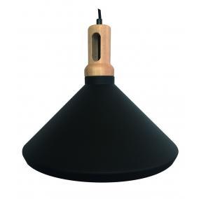MAGSUS-A002, E27 Max 60W, függeszték lámpatest, fekete