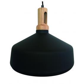 MAGSUS-A003, E27 Max 60W, függeszték lámpatest, fekete