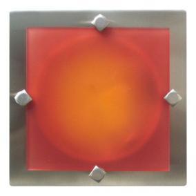 MELIA 16.5 cm 1xG9 40W 230V nikkel színes üveggel, fali / mennyezeti lampa