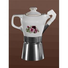 Kávéfőző kotyogós 4 személyes - FATIMA, FATIMA VIRÁG