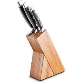 Kés készlet 3 részes fa tartóval - Lamart, LT2057