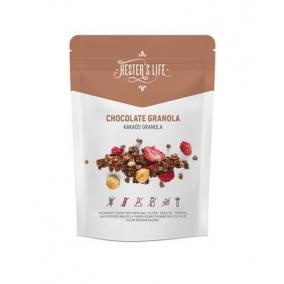 Granola, 60 g, HESTERS LIFE, csokoládés