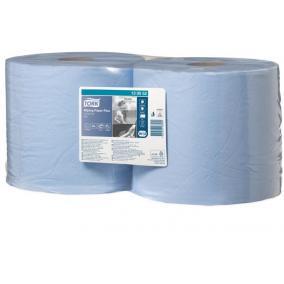 Törlőpapír plusz, tekercses, W1 rendszer, TORK, kék [2 tek]
