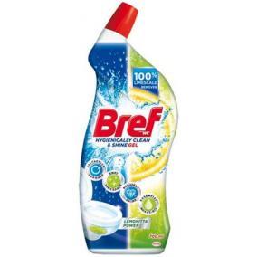 WC-tisztítógél, 700 ml, BREF, citrus