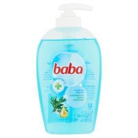 Folyékony szappan, 250 ml, BABA, antibakteriális hatású, teafaolajjal