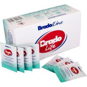 Fertőtlenítő Bradolife kendő bőrfertőtlenítő [100 db/doboz]