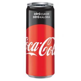 Üdítőital, szénsavas, 0,33 l, dobozos, COCA COLA