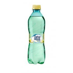 Ásványvíz, ízesített, NATUR AQUA, 0,5 l, körte-citromfű [min: 12db]