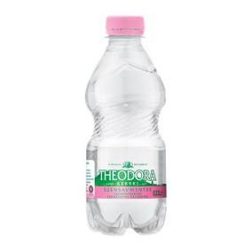 Ásványvíz, szénsavmentes, pet palack, THEODORA 0,33 l [min: 12db]