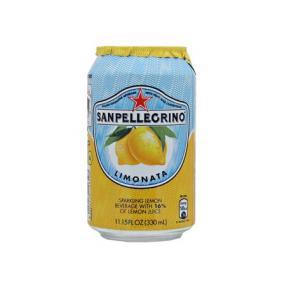 Üdítőital, szénsavas, 0,33 l, SAN PELLEGRINO, citrom [min: 24db]