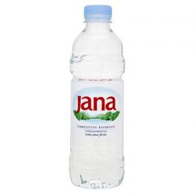 Ásványvíz, szénsavmentes, JANA, 0,5 l [min: 12db]