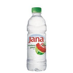 Ásványvíz, ízesített, JANA, 0,5 l, eper-guava [min: 12db]