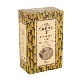 Kockacukor, barna nád, 500 g
