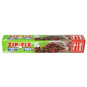 Zipp Fix Zipzáras zacskó, 3 l,  ALUFIX [10 db]
