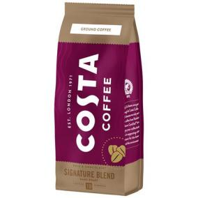 Kávé, sötét pörkölésű, őrölt, 200 g, COSTA