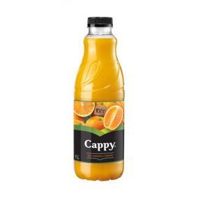 Gyümölcslé, 100%, 1 l, rostos, CAPPY, narancs, szűrt