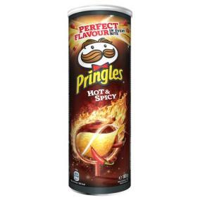 Chips, 165 g, PRINGLES, csípős