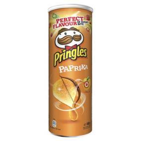 Chips, 165 g, PRINGLES, paprikás