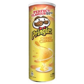 Chips, 165 g, PRINGLES, sajtos