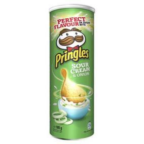 Chips, 165 g, PRINGLES, hagymás-tejfölös