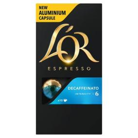 Kávékapszula, 10 db, koffeinmentes, JACOBS DOUWE EGBERTS