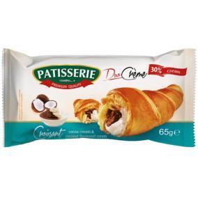 Croissant, 65 g, PATISSERIE, kakaó és kókusz