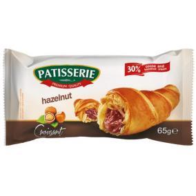 Croissant, 65 g, PATISSERIE, mogyoró