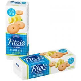 Keksz, hozzáadott cukor nélkül, 130 g, OLA, citromos