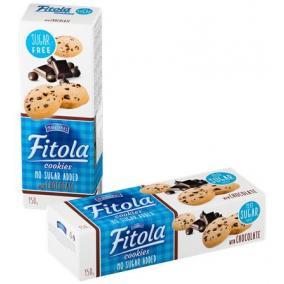 Keksz, hozzáadott cukor nélkül, 150 g, OLA, csokoládés