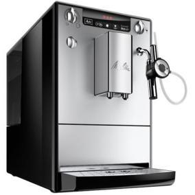 Kávéfőzőgép, automata, kávédarálóval, tejhabosítóval, MELITTA