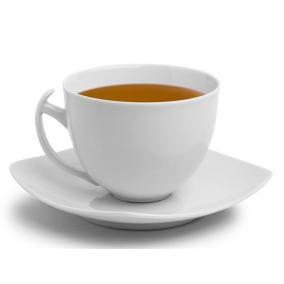 Teáscsésze+alj, ROTBERG, fehér, 50cl, 4db-os szett,