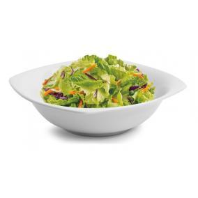 Salátás-, pogácsás tál, ROTBERG, fehér, 23cm, 2db-os szett,