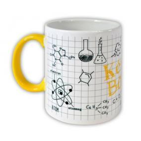 Teásbögre, kémia mintával, 32 cl