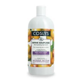 Hajsampon, bio, száraz hajra, 0,5 l, COSLYS