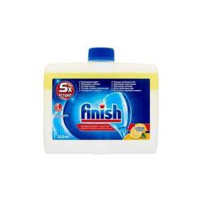 Mosogatógép tisztító, 250 ml, FINISH, citrom