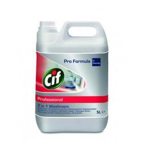 Fürdőszobai tisztítószer, 5 l, CIF, 2in1 [5 liter]