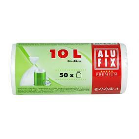 Szemeteszsák, 10 l, 50 db, ALUFIX [50 db]