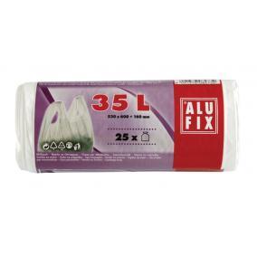 Szemeteszsák, köthető füllel, 35 l, 25 db, ALUFIX [25 db]