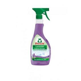 Higiénikus tisztítószer, 500 ml, szórófejes, FROSCH, levendula