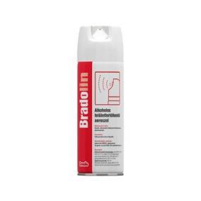 Felület fertőtlenítő spray, alkoholos, 0,5 l, BRADOLIN